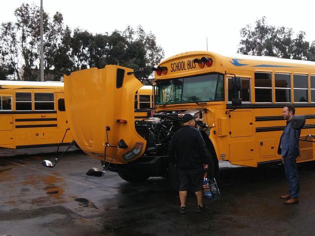Blue Bird Brings New Bus Showcase to California