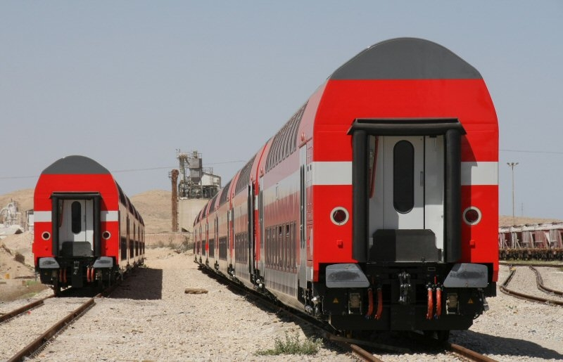 Bombardier to supply double-deck coaches to Israel Railways