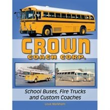 Louk Markham, transportation manager at Portage (Mich.) Public Schools, chronicles the history of Crown Coach Corp. vehicles in this book, which he did research for and wrote over a period of 15 to 20 years.