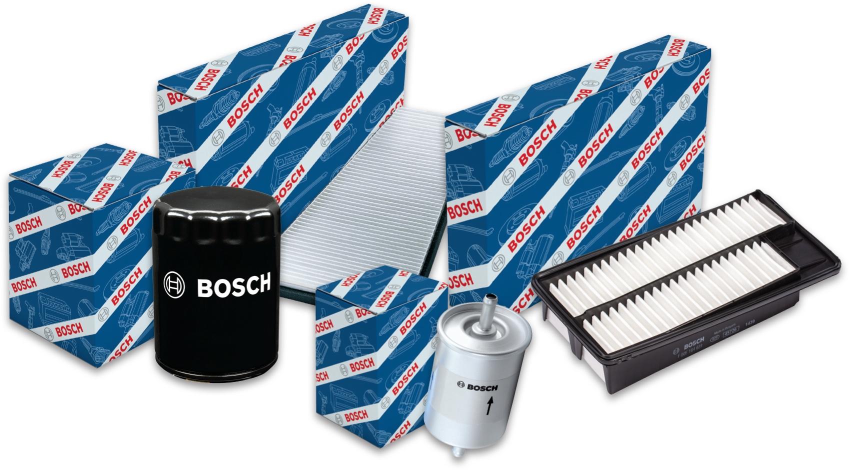 Bosch unveils engine air filters