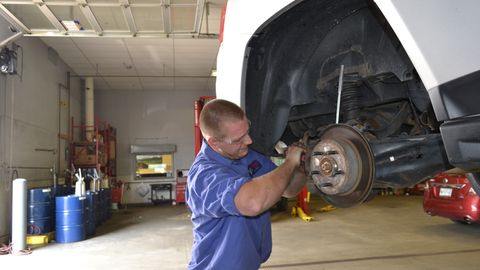 Approaching brakes, ride control and tires as systems to be serviced together, not separately,...