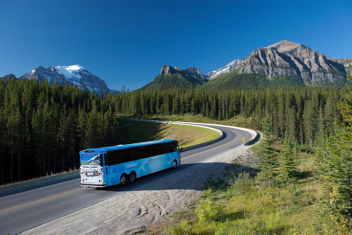 Brewster Travel Canada-Banff, Alberta, Canada No. 42