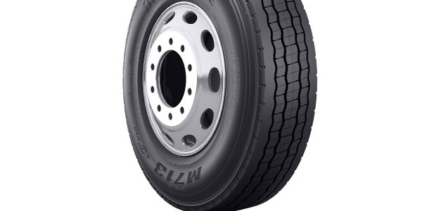 Features of the Bridgestone M713 Ecopia tire include 3D siping to provide 130% more biting...