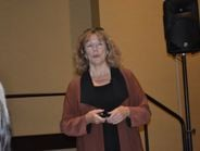 The SCRTTC's Nina Babiarz discussed training during this year's Transit Maintenance Forum.