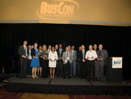 This year's Innovative Solutions Award winners included Capital Metro, Swiftly, L.A. Metro,...