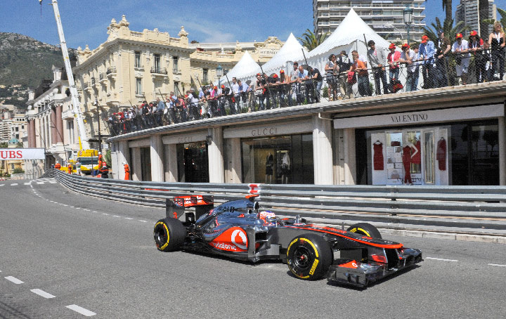 Pirelli P Zero Supersoft stars under mixed weather in Monaco