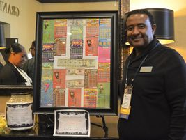 CASTO Chapter 4 President Ross Rosborough and his team sold lottery tickets outside the show...