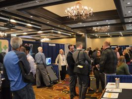 On the show floor, attendeeschecked out products and services from a variety of industry suppliers.