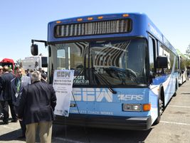 CCW's remanufactured ZEPS bus is rebuilt with lightweight flooring, low-resistance tires, and...