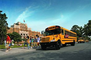 North Carolina will receive more than 800 CE Series school buses next spring from IC Bus' North Carolina dealer, White's International Trucks.