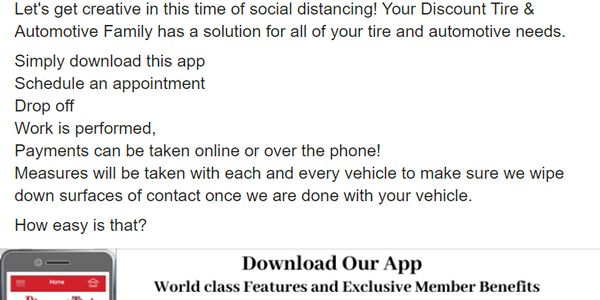 Associated Tire Stores' app lets customers shop for tires, schedule appointments and pay for...