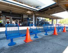 [Photos] Fla.'s JTA intensifies cleaning efforts amid coronavirus pandemic