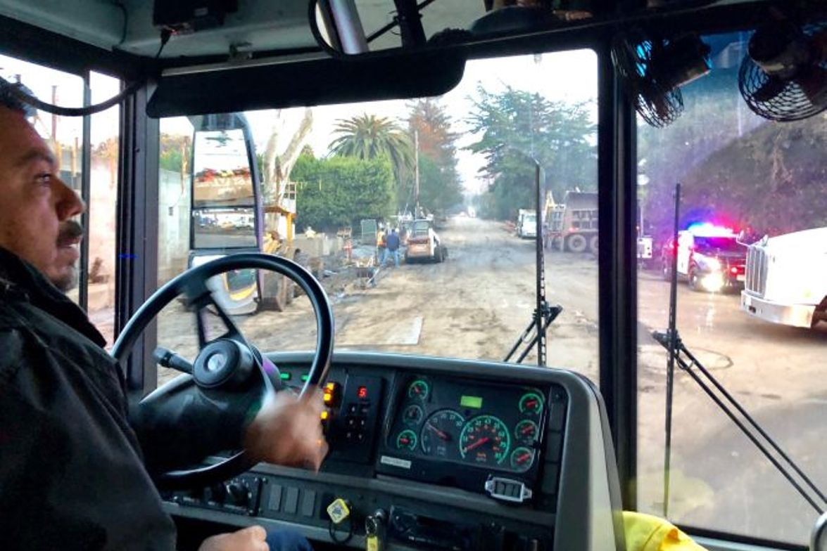 Carpinteria (Calif.) Unified School District school bus drivers recently transported critical...