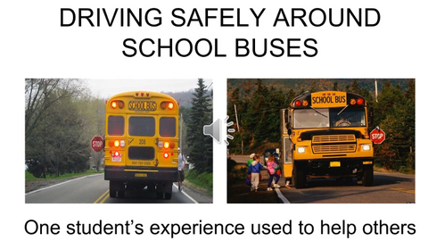 VIDEO: Student Shares School Bus Passing Safety Lesson