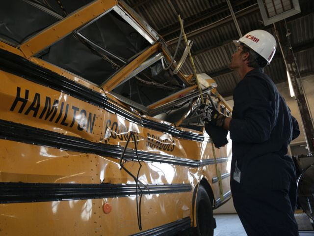 NTSB: School Bus Driver in Chattanooga Crash Was Off Route