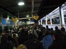Chicago Union Station Metra platforms - Photo: Michael Kappel - 2010 - Flickr
