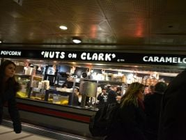 Chicago Union Station Nuts on Clark - Photo: Michael Kappel - 2011 - Flickr