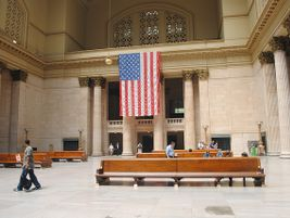Chicago Union Station interior - Photo: Colin Keefe - 2010 - Flickr