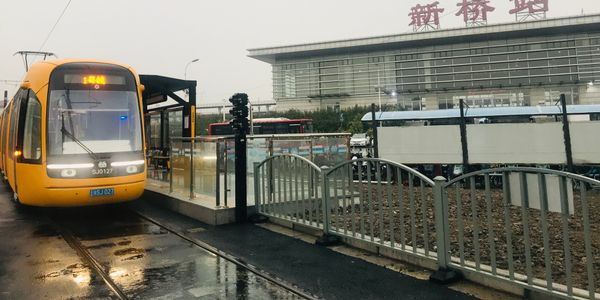 The Songjiang tram is the first tram to be operated by Shanghai Keolis in China. Shanghai Keolis