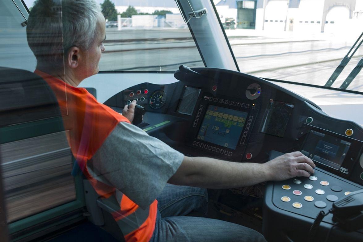 Alstom Citidis tramway for Dubai