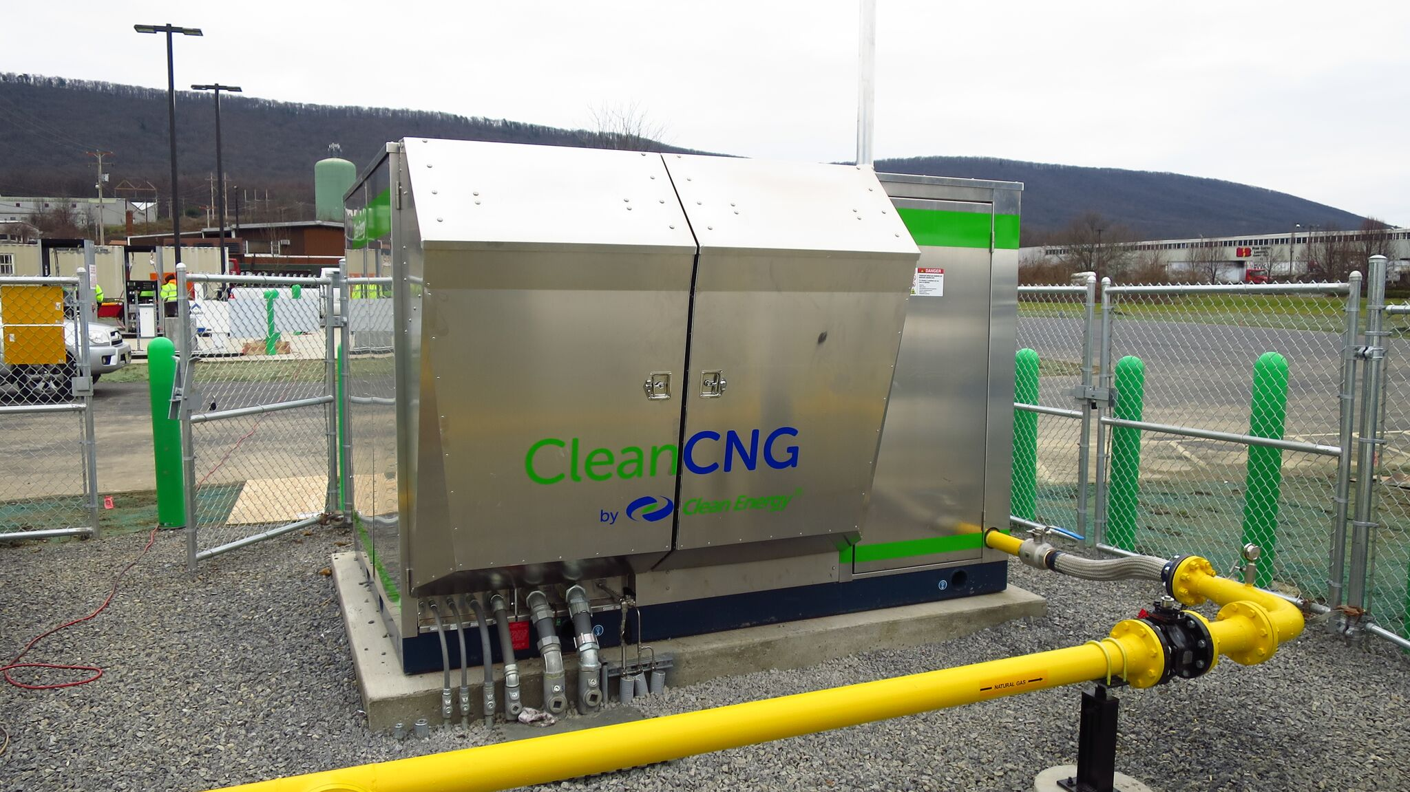 Clean Energy announces the CleanCNG heavy-duty compressor