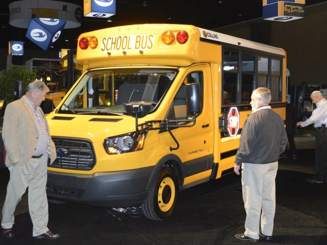 Collins reveals new small bus on Ford Transit chassis
