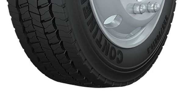 Continental says the new 19.5-inch Conti HSR+ and Conti HDR+ tires deliver a 15% improvement in...