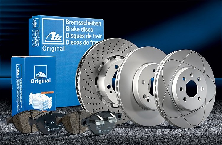 Continental Offers ATE Brake Pads and Rotors for European Makes