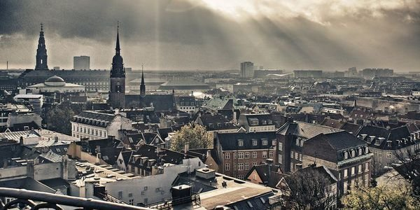 Copenhagen skyline. Credit: Copenhagen Media Center-Robert Thomason