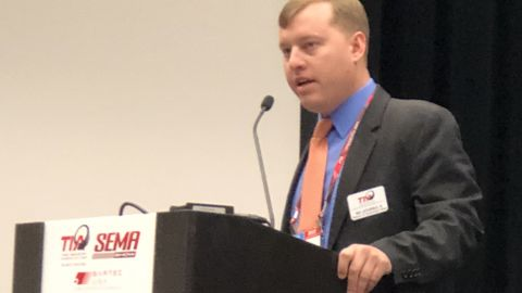Roy Littlefield IV discussed the latest legislative issues affecting the tire industry at the...