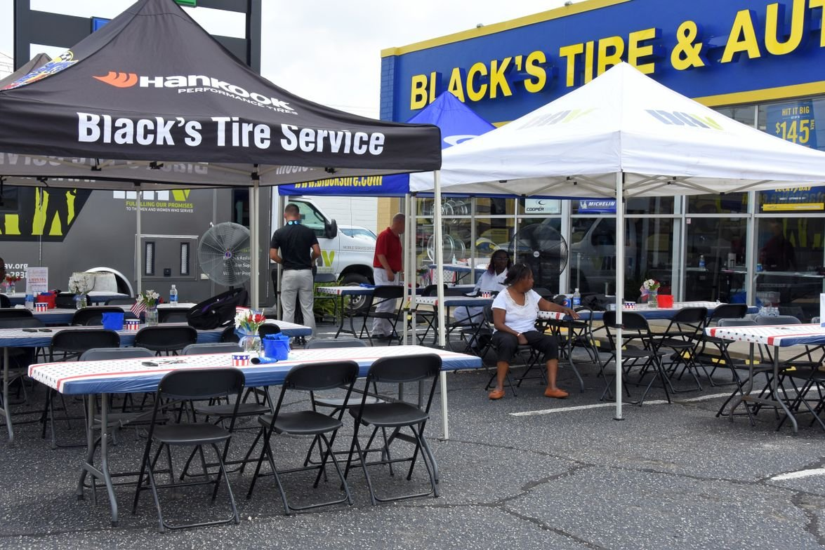 On Aug. 15, 2017, Black's Tire Service Inc. and Hankook Tire America Corp. hosted an event for...