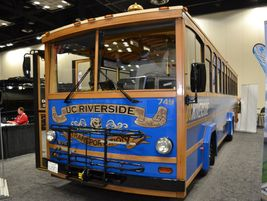 CCW showcased its trolley using its ZEPS electric bus technology.