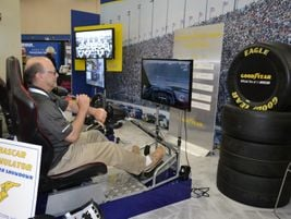 Nick Benge, president of Big OKI LLC, a group of three Big O Tires stores in Kentucky and Ohio,...