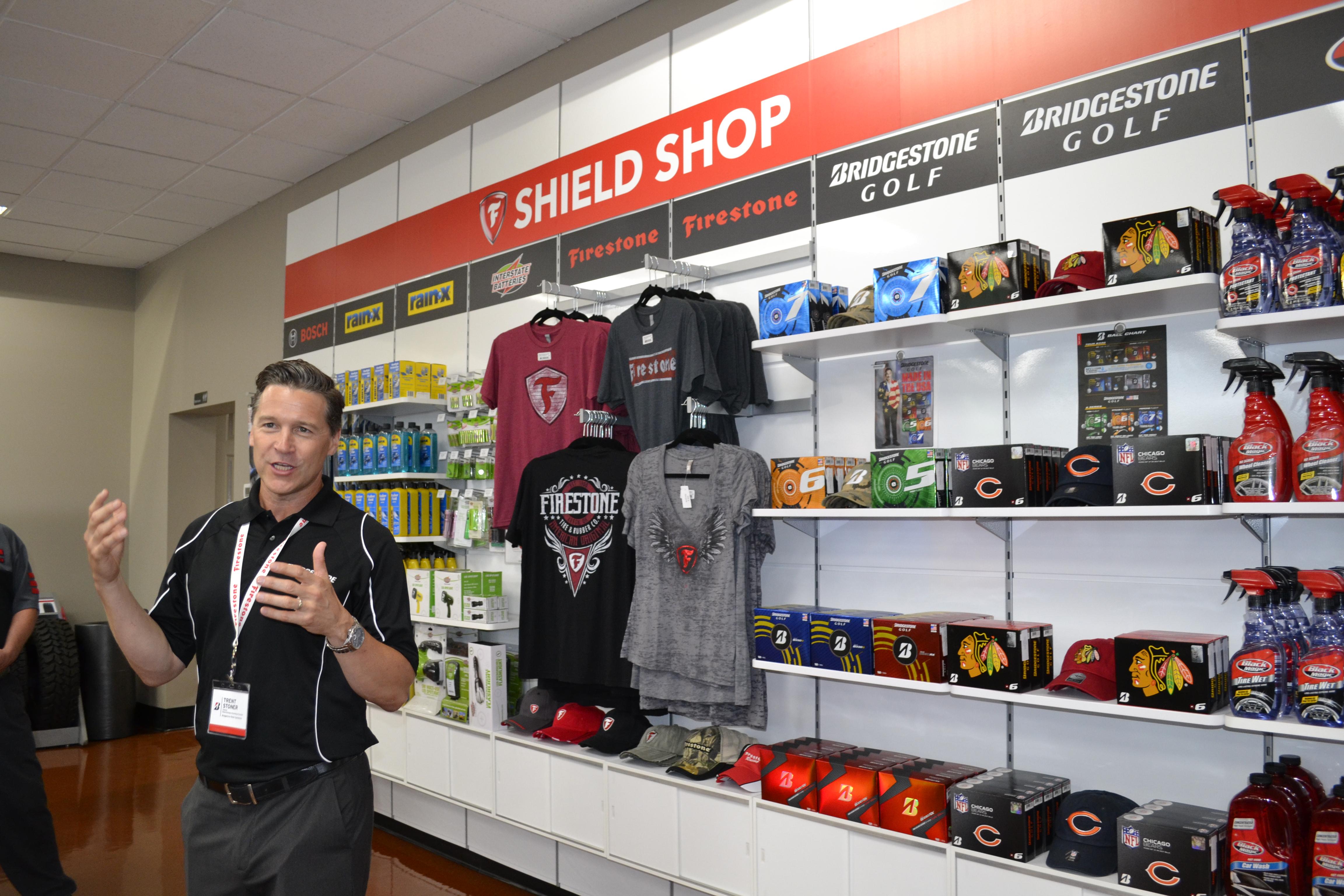 Photos: A Look Inside a Bridgestone Lab Store