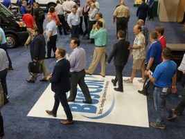 The BusCon show floor was a great place to see all the latest on the bus market.