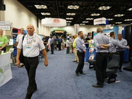 The show floor also included some of the latest products available in the industry today.