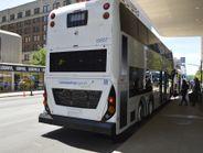 Alexander Dennis showcased its double-decker bus.