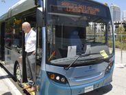 In addition to it's popular double-deck bus, Alexander Dennis showcased the Enviro 200...