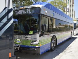 New Flyer showcased a CNG model of its popular Xcelsior bus. The company recently marked a...
