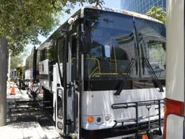 The X3-45 features an expansive entrance with convenient full-length, soft-touch handrails. The...