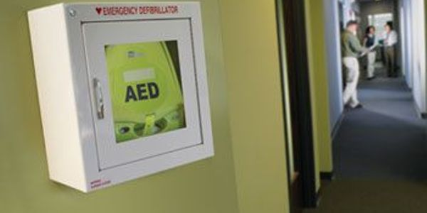 A life-saving shock from an automated external defibrillator along with effective CPR is the...