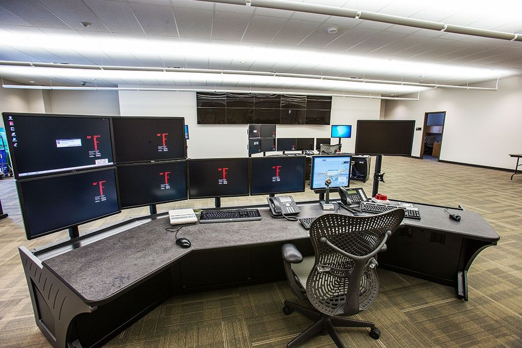 The Commuter Rail Maintenance Facility will house the operations control center, which acts as...