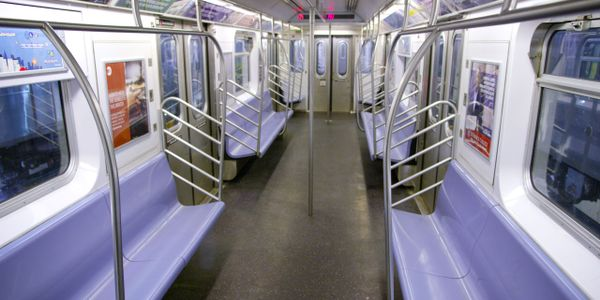 The New York City subway system, which welcomes approximately six million riders per day, is...