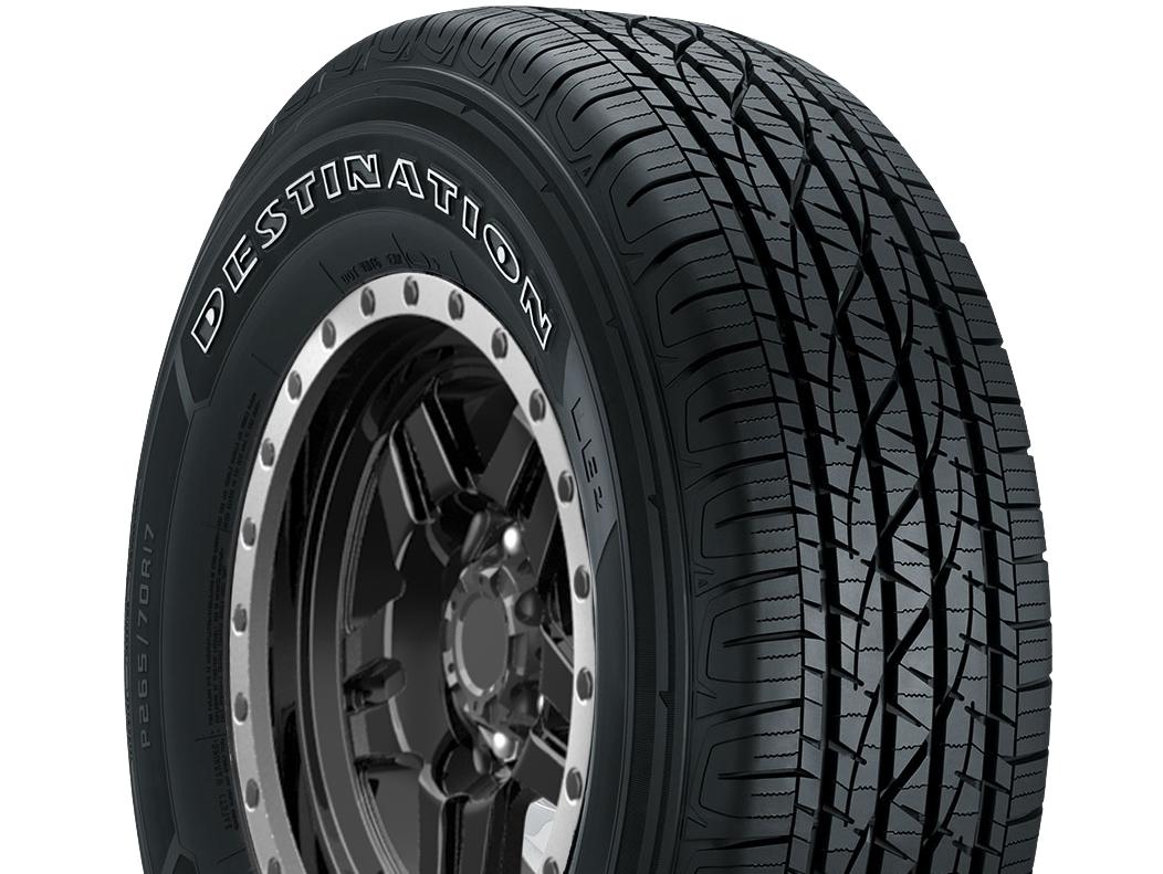 Firestone Destination LE2 Tires Are Designed For All-Season Performance