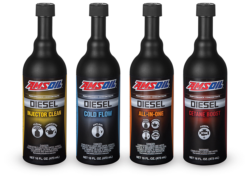 Amsoil Releases New and Reformulated Diesel Fuel Additives