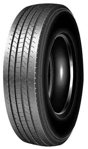 Fuel-efficient truck tires