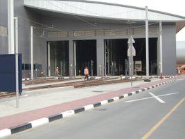 The Al Sufouh maintenance depot Photo: METRO Magazine/J.Starcic