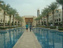 View from a hotel near the Burj Khalifa. Photo: METRO Magazine/J.Starcic