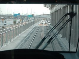 View from inside the tram. Photo: METRO Magazine/J.Starcic