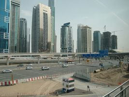 View of the highway and cityscape from the tramway. Photo: METRO Magazine/J.Starcic